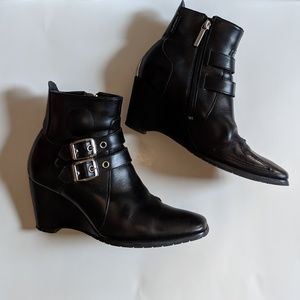 Icon Hella Boots Size 8